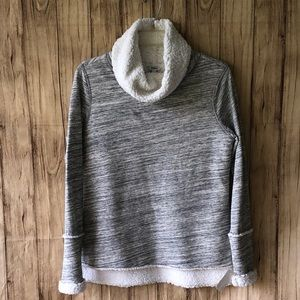 NWT Women's Sonoma Gray Cowl Neck Sweater Size S